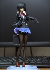 Date A Live Princess Tohka Yatogami with uniform PVC sexy PVC Action Figure Model Toys Anime Collection Gift, 16cm