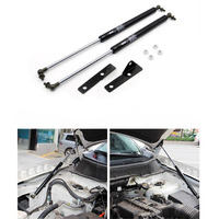 Fit For Mitsubishi ASX Stainless Steel Refit Front Hood Engine Cover Hydraulic Rod Strut Spring Shock Bars Bracket 2011 2018