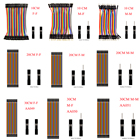 Dupont Line 10cm/20CM/30CM/40CM Male to Male / Female to Male or Female to Female Jumper Wire Dupont Cable for arduino DIY KIT