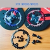 FOURIERS Bike Chainring Chain Guard Narrow Wide Bicycle Chainrings For M9000 M9020 11 Speed Crank With