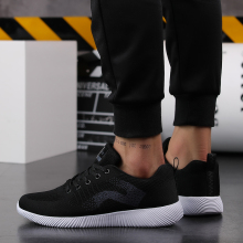 2018 High quality Breathable Men Casual Shoes Spring autumn Classic Fashion Male Lace up Mesh Flats Comfortable Casual Shoes  5 male casual shoes high quality lace up oxfords men flats spring autumn breathable driving shoes aa30065