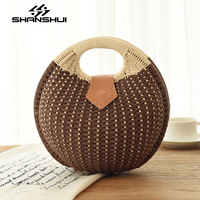 2017 In The Summer New Beach Bag Fashion Straw Bag Designers Brand Women S Bags Large