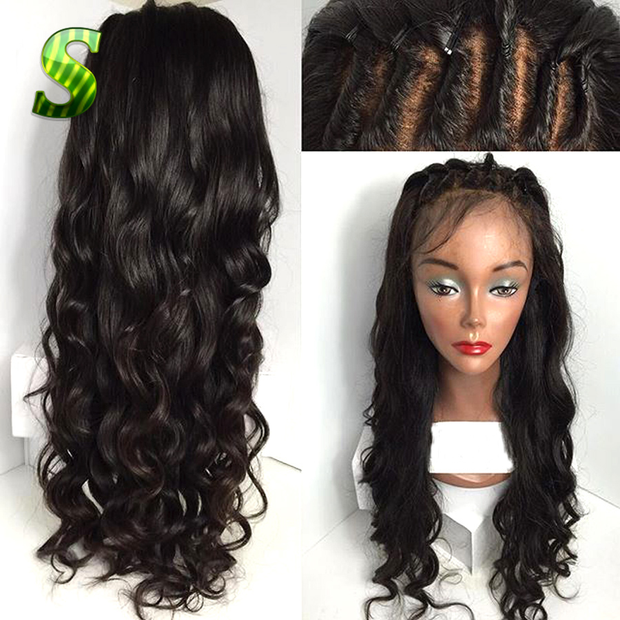 7a Brazilian Full Lace Wigs Body Wave Lace Front Wig
