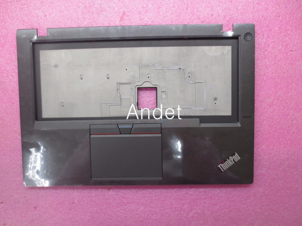 New Original Keyboard Bezel Palmrest Cover for Lenovo ThinkPad T450S UMA With Touchpad Without Fingerprint 00HN693 spanish latin laptop keyboard for sony vaio svp1321ecxb svp1321ggxbi svp1321hgxbi svp1321zrzbi sp la palmrest backlit touchpad