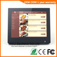 15 inch Retail Touch Pos System Pos System All In One for Restaurant Supermarket