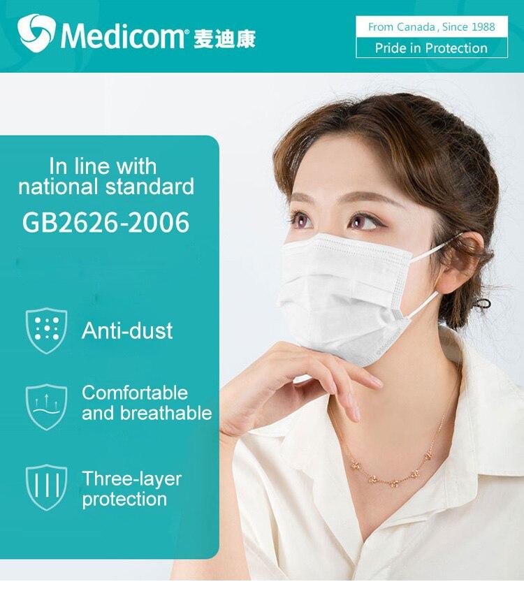 medicom medical mask disposable
