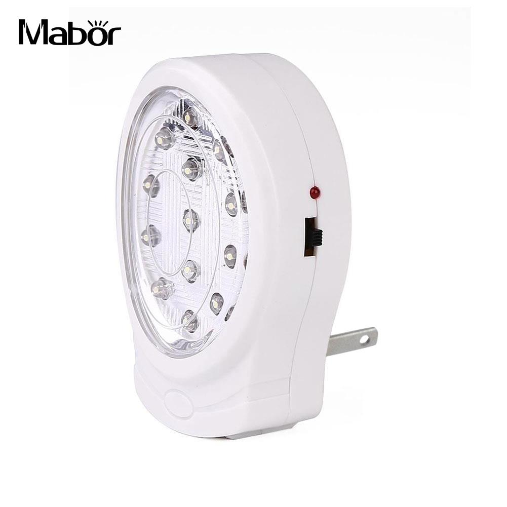 Night Light Emergency Lamp Automatic Power Failure Outage US Plug AC 110-240V