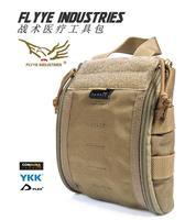 FLYYE MOLLE Tactical Trauma Kit Pouch Military camping hiking modular combat CORDURA PH C042