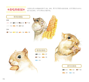 Image 3 - Chinese Color Pencil Drawing Meng cute pet Healing Journey Succulents Art Painting Book