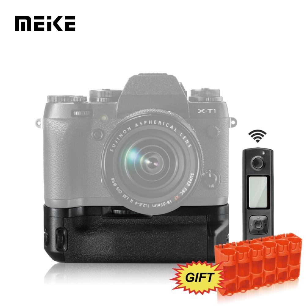 Meike MK-XT1 Pro 2.4G wireless Remote Control Battery Grip for Fujifilm XT1 meike mk 760d pro built in 2 4g wireless control battery grip suit for canon 750d 760d as bg e18
