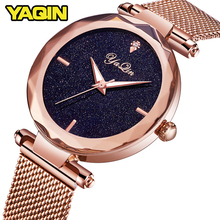 2018 brand sports women's watch stainless steel mesh belt fashion quartz watch lady Montre Femme watch women Relogio Feminino