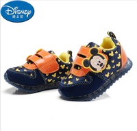 Disney Kids Shoes Girls Sneakers Autumn 2018 Todder Baby Mickey Sneakers Tenis Infantil Schoenen Shoes Kinders Casual Shoes