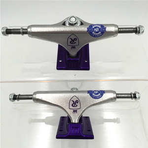 Image 5 - Original USA 5.0  inch Royal Trucks for Skateboarding made by Aluminum for 2 Types Caminhao trucks kaykay