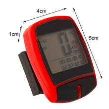 Wireless XC Shell MultiFunctional Cycle Bike Bicycle Computer Odometer Pedometer Backlight Design Bicycle Accessories drop shipp