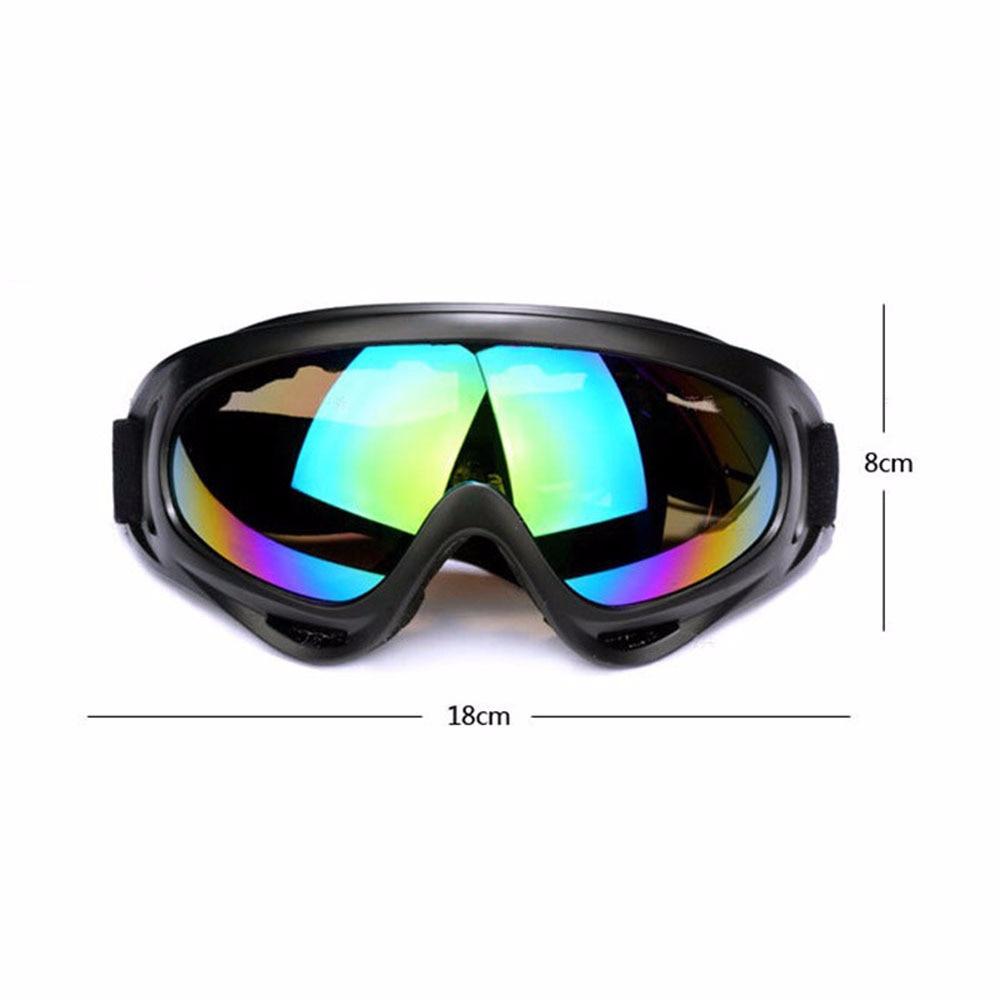 1 Pcs Snowboard Snowmobile Anti-fog Goggles Windproof Dustproof Glasses Skate Ski Sunglasses Eyewear Winter Snow Skiing Eyewear
