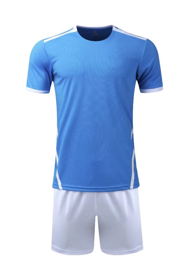 Men 18/19 quick dry Training Sports T-shirts Adult football team kits soccer sets Breath ...