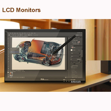 Sale New G190 19-Inches Pen Display LCD Monitor Touch Sreen Monitors Graphic Drawing Digital Tablet Black Hand-painted digital screen