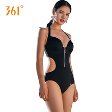 361 Women Swimwear One Piece Swimsuits Black Sexy Monokini Halter Bikini Female Backless Triangle Pool Bathing Suits For Girls