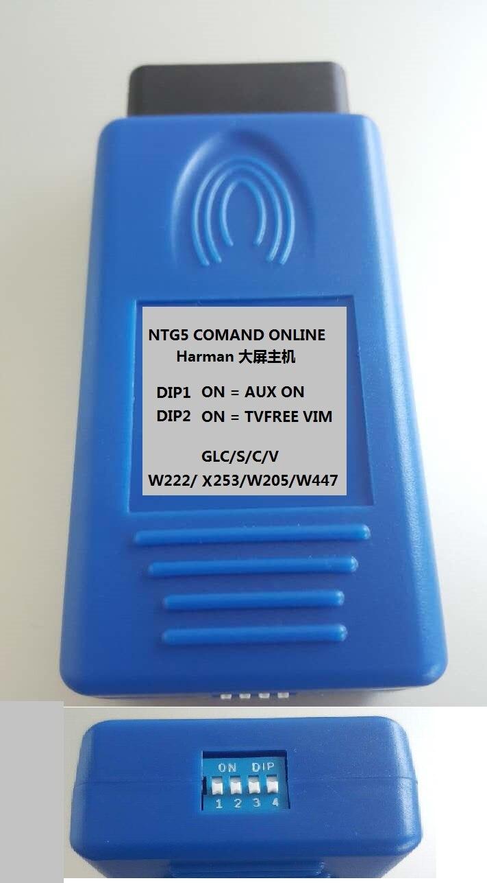 2019 COMAND ONLINE NTG5 AUX IN ACTIVATOR C GLC S V W205 X253 W222 W447 TV FREE VIM2019 COMAND ONLINE NTG5 AUX IN ACTIVATOR C GLC S V W205 X253 W222 W447 TV FREE VIM
