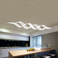 Modern Pendant Lights For Dining Living Room Kitchen Fixture Indoor Home Decor Suspension Luminaire With Remote Control Hanglamp