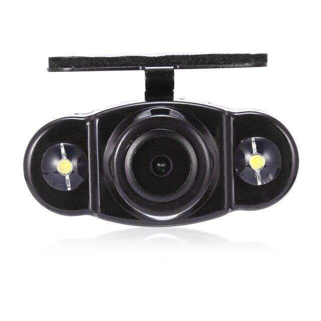 Zeepin kelima CR22 170 градусов Широкий формат Dual светодиоды заднего вида Камера Водонепроницаемый против запотевания заднего вида Мониторы зеркало
