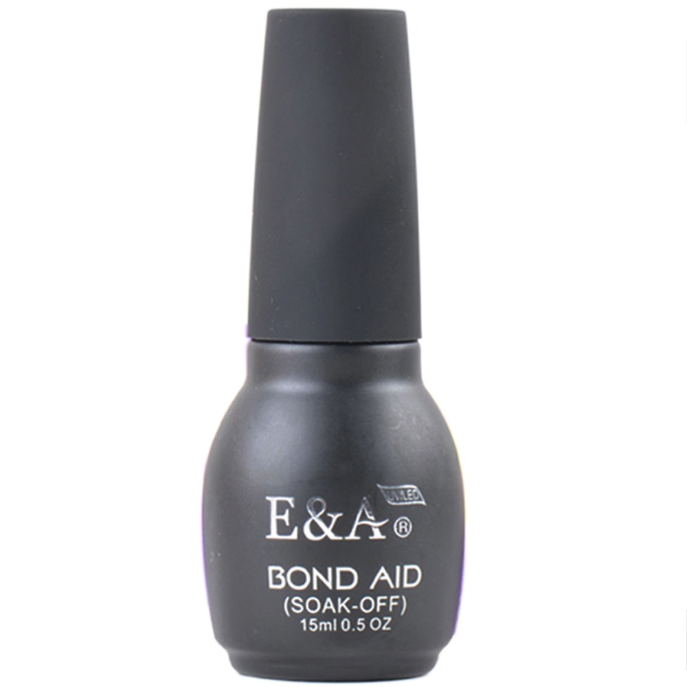 E & A Long Lasting Gel Base Coat Soak Off Primer per Nail Gel Polish 15ml