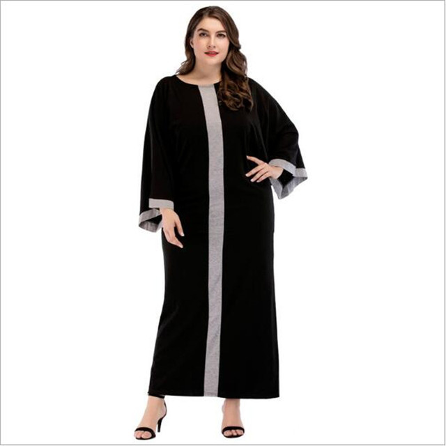 Muslim Abaya Maxi Dress Bat sleeve Long Robe Gowns Kimono Vintage Robe  Jubah Ramadan Middle East dd71d9ba3