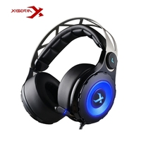 Original XIBERIA T18 7 1 Gaming Headphones Surround Sound Deep Bass With Microphone Headsets Headphones For