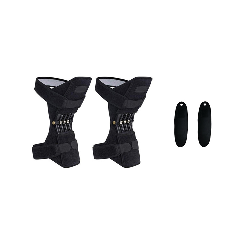 Joint Support Knee Pads Powerful Rebound Spring Force with Self heating Wristband Wrist Support Bracers #2u12