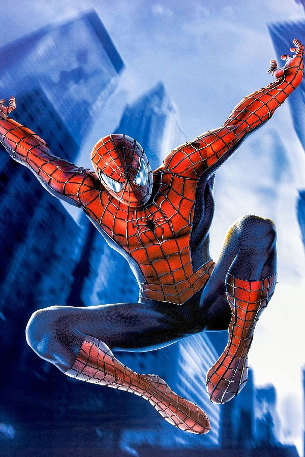 ᐊDIY marco 5 unids elige el hombre araña cartel de película seda ...