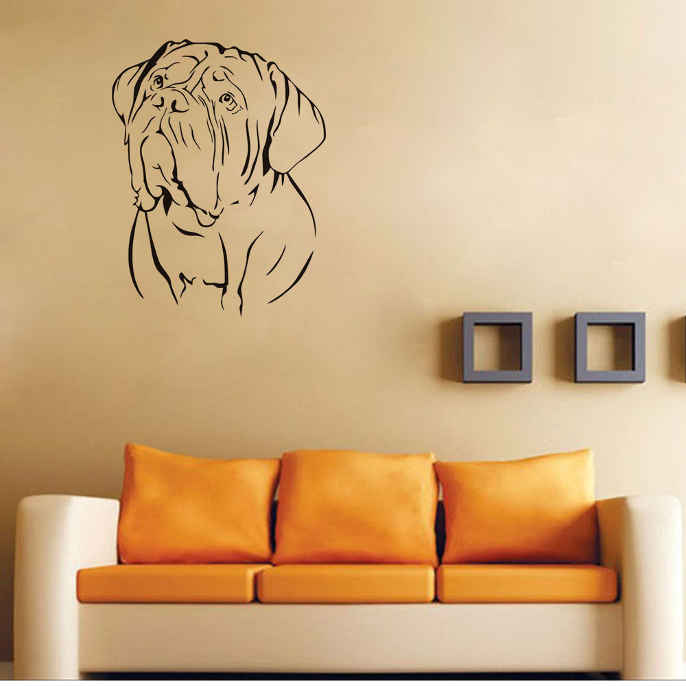 Dog With Sad Face Wall Stickers Animals Art 3d Poster Wall Decal ...