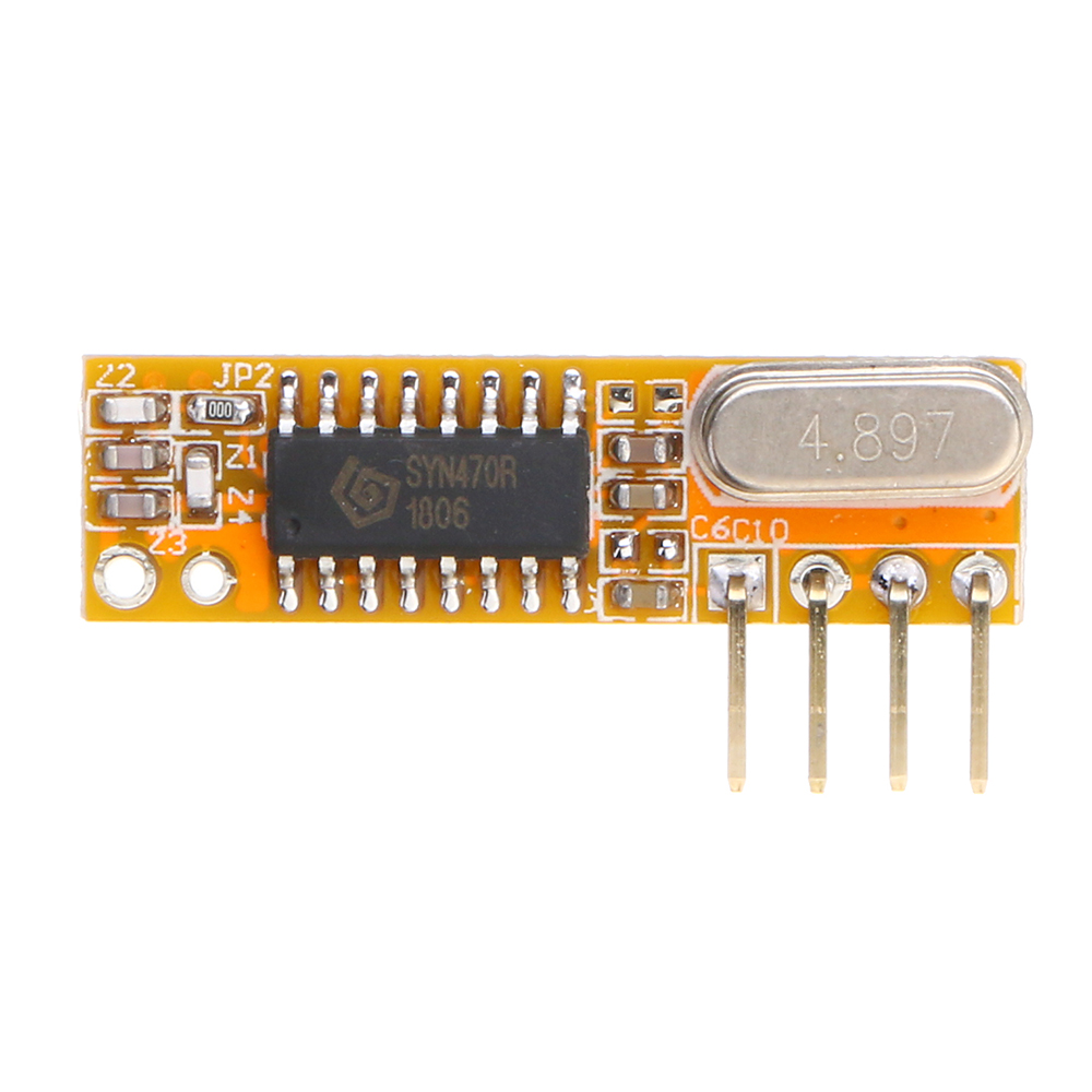 For RXB12 315Mhz Superheterodyne Receiver Board Wireless Receiver Module High Sensitivity