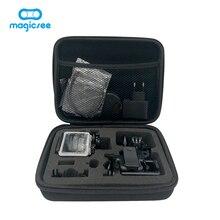 Magicsee Портативный противоударный действие Камера Сумка среднего размера 22*18*6 см Портативный сумка для magicsee GoPro EKEN h9r h3r 360 Камера
