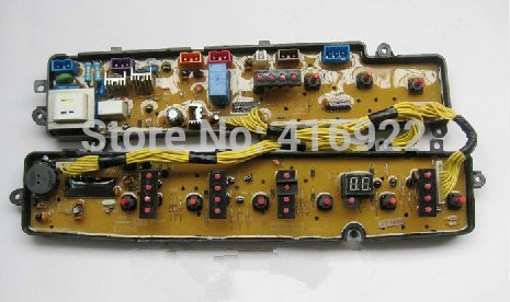 Free shipping 100% tested for Midea for rongshida washing machine board xqb55-801g xqb60-804g motherboard circuit board on sale free shipping 100% tested for washing machine board konka xqb60 6028 xqb55 598 original motherboard ncxq qs01 3 on sale