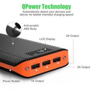 Image 2 - Внешний аккумулятор 20000 мАч Внешний аккумулятор 3 USB внешний аккумулятор для iPhone X XR 11 11PRO iPad samsung S20 xiaomi 9Pro.