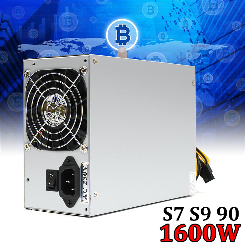 1800W Miner Mining Power Supply For Eth Bitcoin Miner Gold Computer Power Supply Machine For BTC