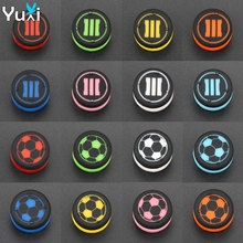 YuXi 16pcs Heightened Plastic Anti-Slip Enhanced Analog  Grip Stick Cap Cover for Sony Play Station 4 PS4 Controller grip cap cover sony play 4 thumbsticks ps4 xbox grip cap cover 520