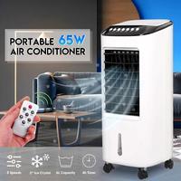 Портативный кондиционер 65 Вт увлажнитель воздуха пол гостиная спальня дистанционное управление бытовой охлаждающий вентилятор воздуха ве...