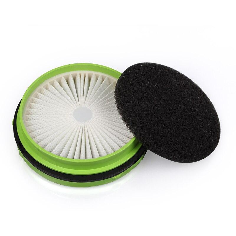 1 шт. 98 мм размер белый и зеленый hepa фильтр для пылесоса аксессуары и части фильтра щенок D-520