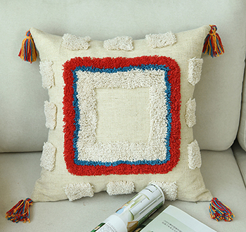 Bohemian Style Colorful Cushion Cover Mawgie