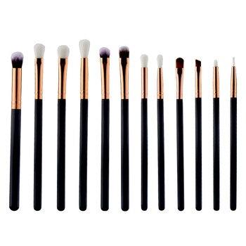 High Quality Hot Fashion 12pcs Makeup Brushes Set Cosmetic Eyebrow Eyeshadow Brush Makeup Brush Sets Kits Tools Pincel Maquiage Health & Beauty