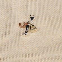 Muffiy бренд DIY Мода Подкова загрузки подвески для браслет колье Повседневное Для женщин Jewelry Untuk Wanita Bijoux Спортивная подарок другу