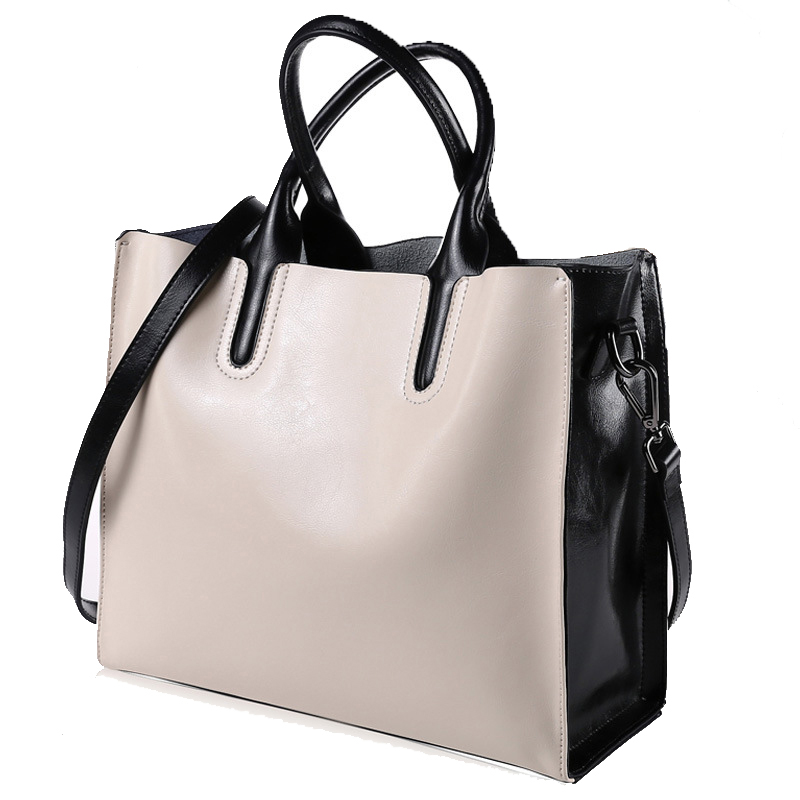 Women Leather handbags women shoulder bags big messenger ladies bag leisure genuine leather bag female tote messenger fashion brand solid genuine leather women handbags hobo tote bag female tassel big women shoulder bags single ladies crossobdy bag