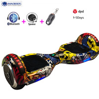 Self Balance Hoverboard LED Light Smart Kick Gyroscooter Balancing Scooters Hover Board Bluetooth Overboard Gyro Scooter Boards