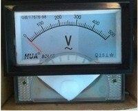 85L17 AC 10V 20V 30V 50V 100V 150V 200V 250V 300V 450V 70mm x 40mm Analog Needle Panel Meter Voltmeter