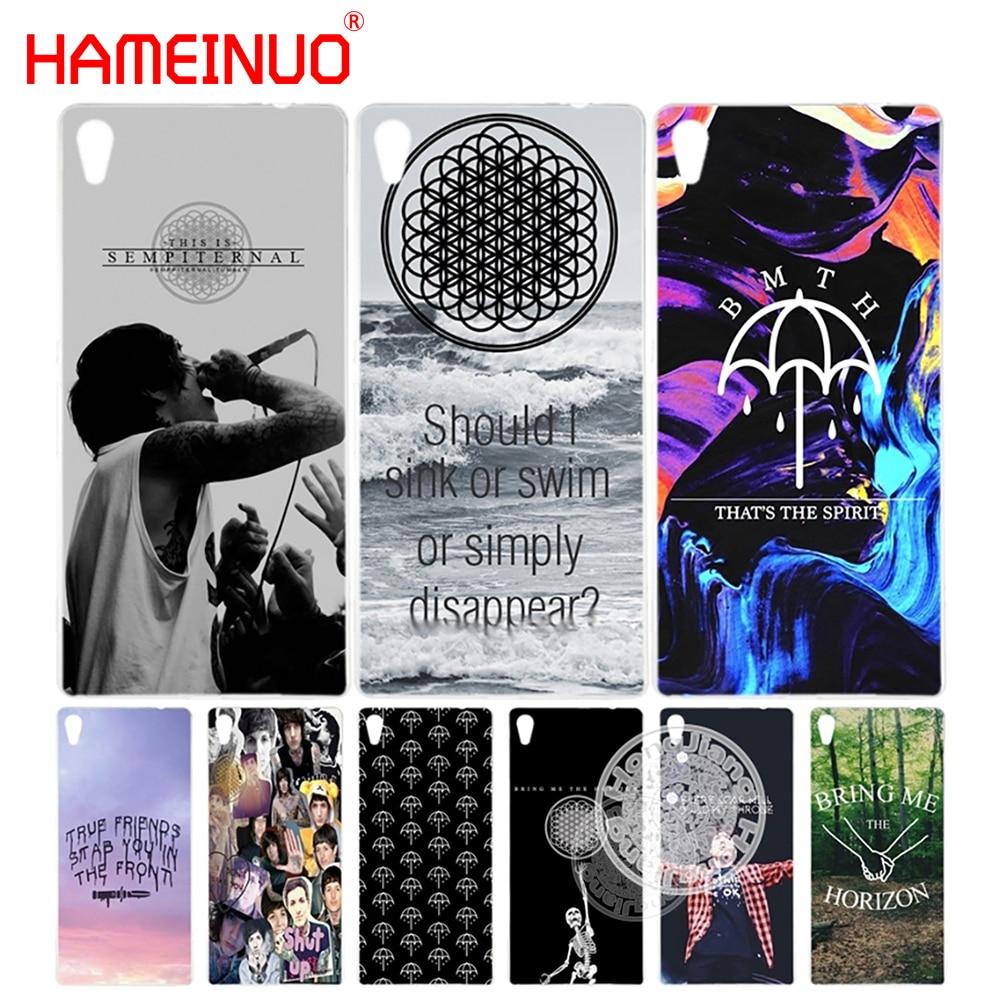Hameinuo Сайкс Bring Me горизонт BMTH крышка телефона чехол для Sony Xperia Z2 Z3 Z4 Z5 Mini плюс aqua M4 M5 E4 E5 C4 C5