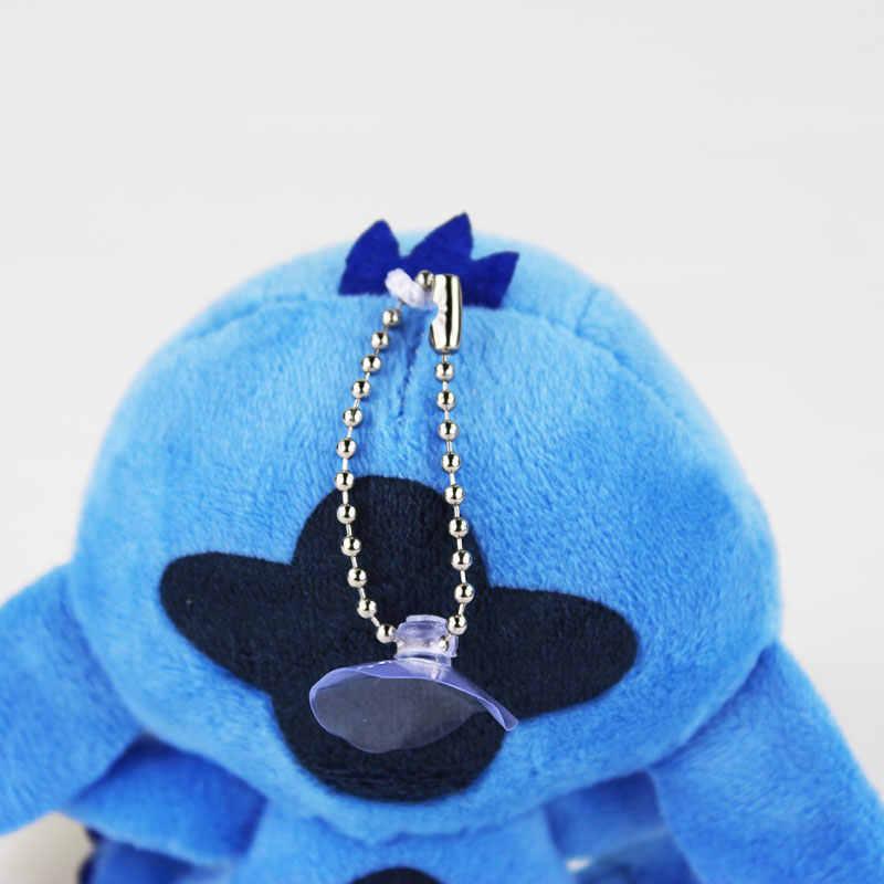 """4 """"10 centímetros Lilo Stitch Plush Bonecas Brinquedos com otário keychain Macio Bichos de pelúcia Para As Crianças Presentes Do Bebê"""