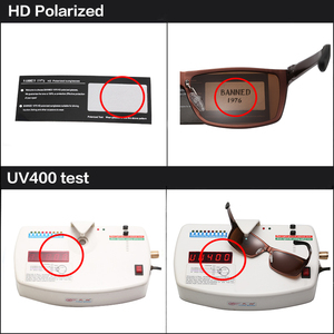 Image 3 - 2019 New Arrival Aluminum Brand men Sunglasses HD Polarized Lens Vintage Eyewear Accessories Sun Glasses Oculos For Men male 605