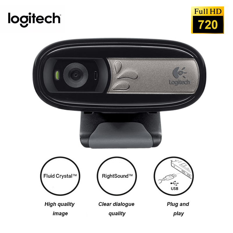 Logitech Webcam HD C170 with Built in Micphone 720P