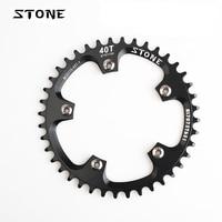 Stone MTB Bike Single Chainring BCD 110mm 34T 36T 38T 40T 42T 48T 58T 60T Circle Chain Ring 5 Arms Narrow Wide Teeth Chainwheel